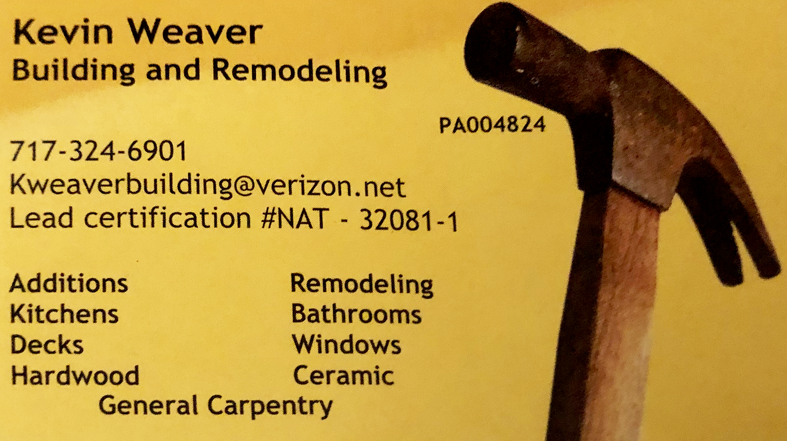 Kevin Weaver Building and Remodeling