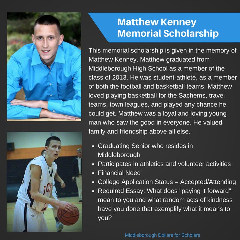 Matt Kenney Scholarship