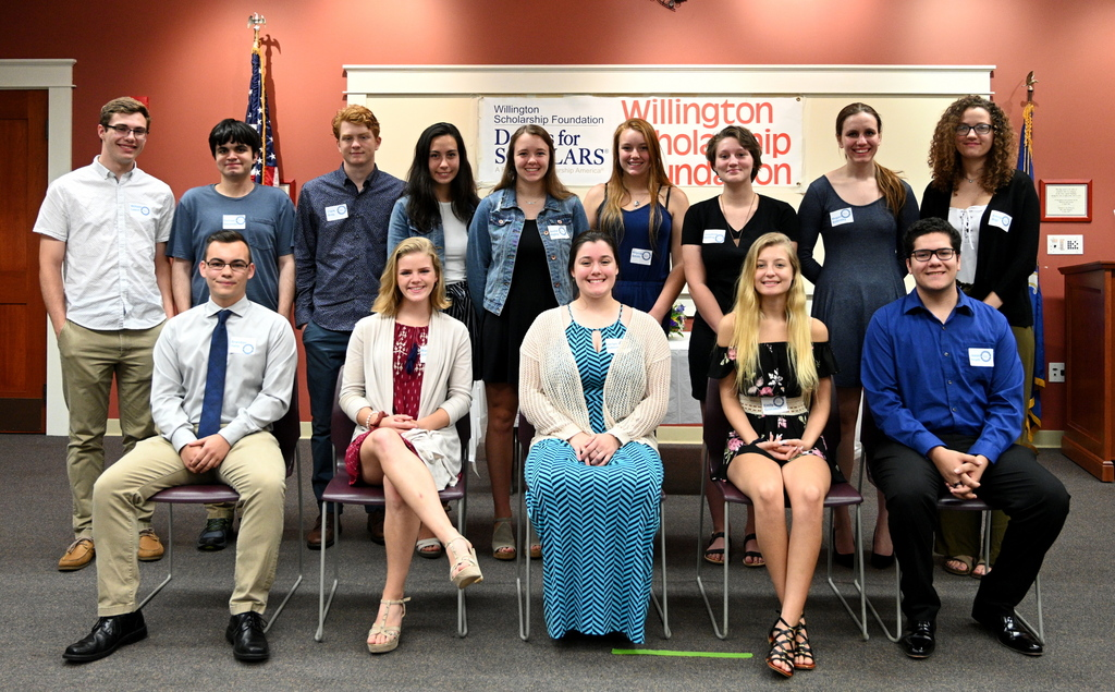 2019 Willington Scholarship Foundation Dollars for Scholars Recipients