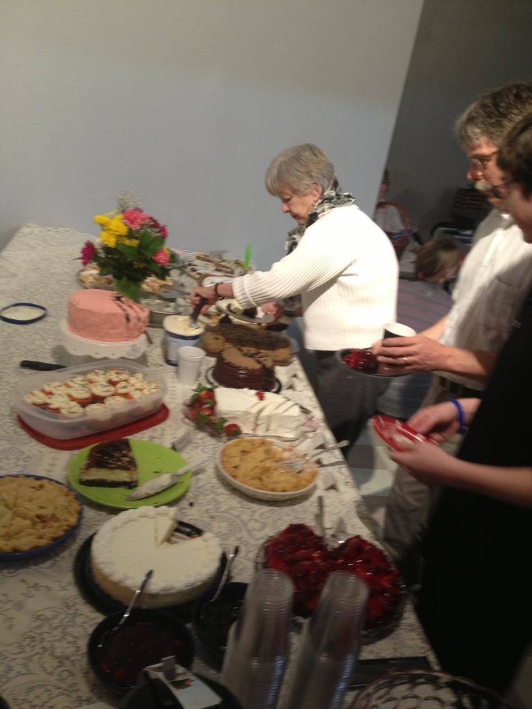 March 2013 Fundraising Dessert